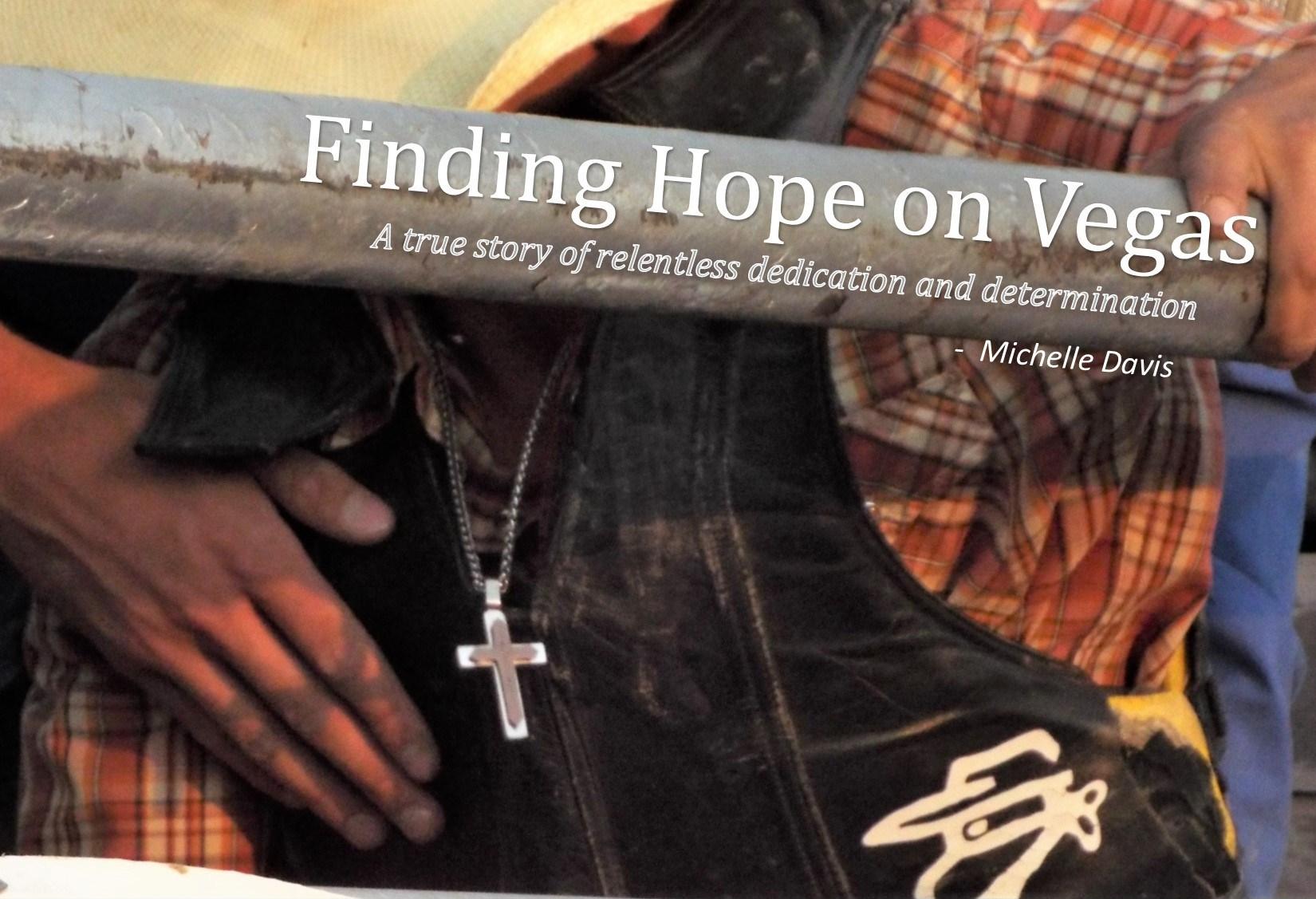 FINDING HOPE ON VEGAS POSTER 4