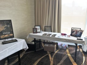edit table setup at the conference