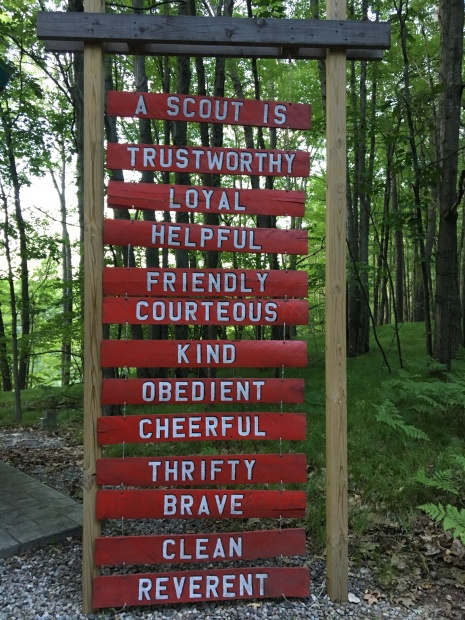 The Boy Scout Law is good advice for everyone.